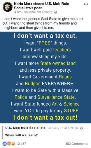 socialism, infographic, parody, satire, humor, capitalism, free market, star trek, progressivism, leftism, tax cuts, statism,